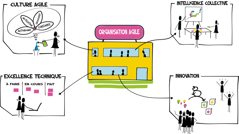illustration agile